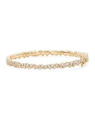 Paul Morelli Confetti 18k Yellow Gold & Diamond Bangle Bracelet