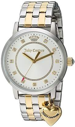 Juicy Couture Women's 'Socialite' Quartz Stainless Steel Automatic Watch, Color:Two Tone (Model: 1901477) $225 thestylecure.com