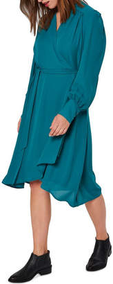 Selected Alva Wrap Dress