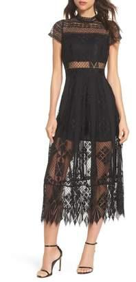 Foxiedox Calla Lace Midi Dress
