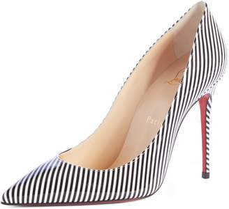 Christian Louboutin Decolette Stripe Pump