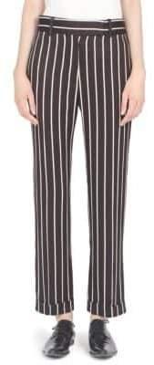 Haider Ackermann Striped Wide-Leg Trousers