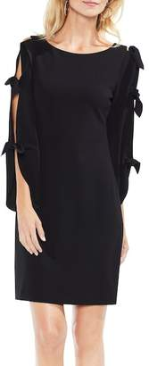 Vince Camuto Tie Sleeve Shift Dress