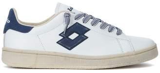 Lotto Leggenda Autograph Blue And White Leather Sneaker
