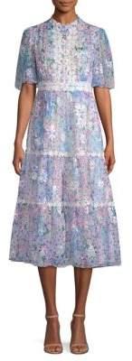 Kate Spade New York Daisy Garden Midi Dress