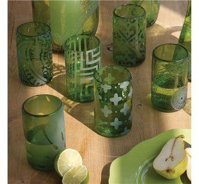 Mondo Glass Tumblers - Set of 6