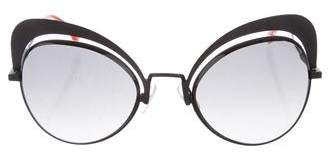 Fendi Oversize Cat-Eye Sunglasses
