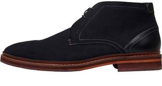 Ted Baker Mens Azzlan Suede Boots Dark Blue
