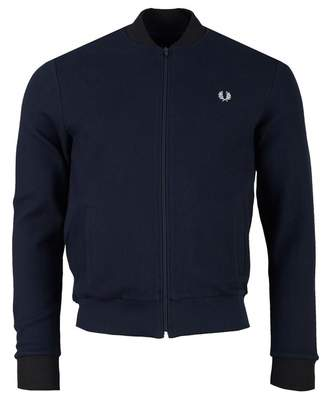 Fred Perry Authentics Pique Bomber Sweat