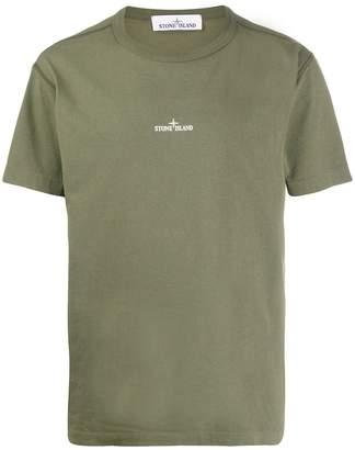 Stone Island printed cotton T-shirt
