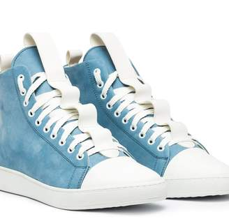 Ylati Sorrento High Blue Suede