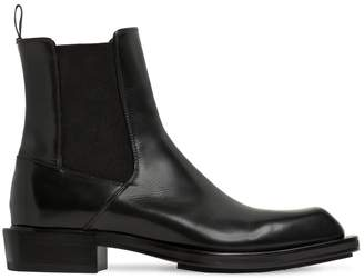 Alexander McQueen 35mm Leather Ankle Boots