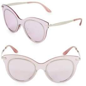 Dolce & Gabbana 51MM Butterfly Sunglasses