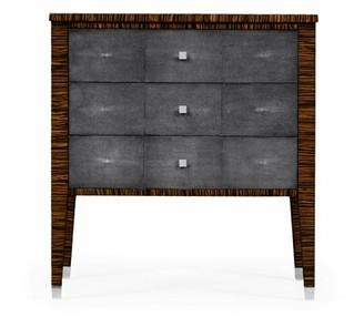 Jonathan Charles Fine Furniture Metropolitan Faux Macassar 3 Drawer Accent Chest Jonathan Charles Fine Furniture