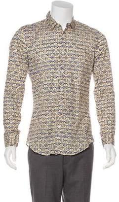 Gucci Abstract Print Shirt w/ Tags