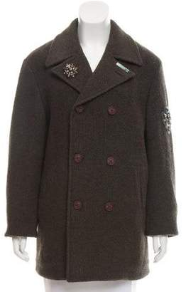 Etro Double-Breasted Wool Coat w/ Tags