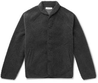 YMC Shawl-Collar Fleece Bomber Jacket