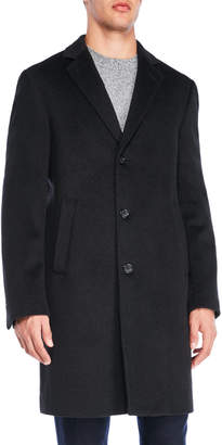 Calvin Klein Madison Single-Breasted Overcoat