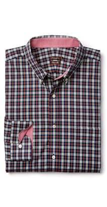 J.Mclaughlin Westend Trim Fit Shirt in Plaid