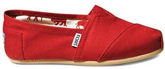Toms Classic Canvas 001001B07 Womens 9.5