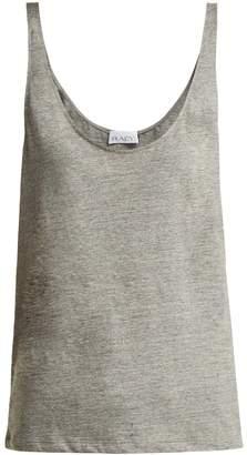 Raey Skinny-strap cotton-jersey vest