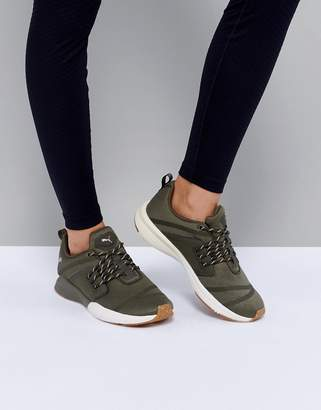 Puma Pulse Ignite Xt Sneakers In Khaki $111 thestylecure.com