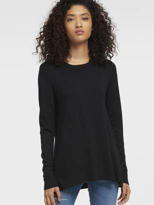 DKNY Trapeze Crew Neck Pullover