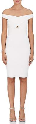 Mason by Michelle Mason WOMEN'S CROSS-STRAP TECH-JERSEY DRESS