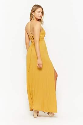 Forever 21 M-Slit Maxi Dress