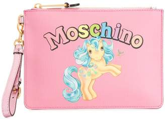 Moschino My Little Pony clutch bag