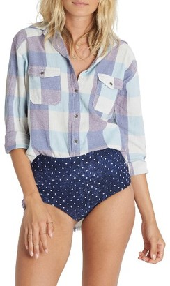 Women's Billabong Riding Solo Woven Shirt $49.95 thestylecure.com