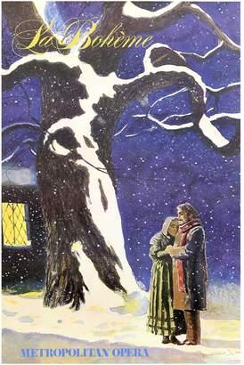 Wyeth RoGallery La Boheme (Metropolitan Opera), 1978 by Jamie Poster)