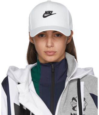 Nike White Futura Snapback Cap