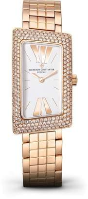 Vacheron Constantin 25515/u01r-9254 Cambree 1972 Rose Gold 37.7mm X 21mm Watch $38,000 thestylecure.com