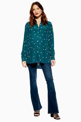 """Topshop MATERNITY Jamie Flare 34"""" Jeans"""