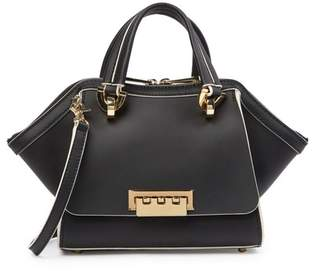 Zac Posen Eartha Mini Double Handle Leather Satchel