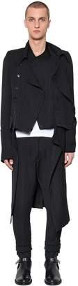 Ann Demeulemeester Modular Wool Blend Coat