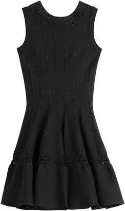 Alaia Dress with Metallic Thread