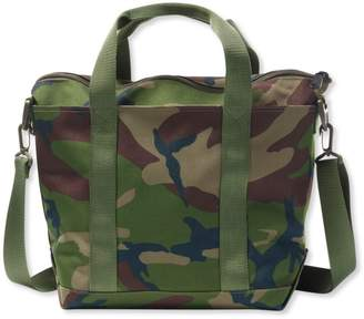 L.L. Bean L.L.Bean Zip Hunter's Tote Bag With Strap, Camo