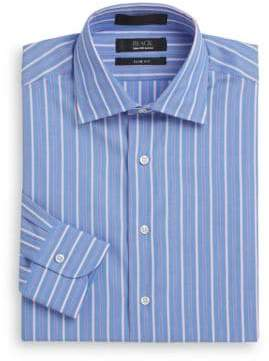 Saks Fifth Avenue Slim-Fit Striped Cotton Dress Shirt