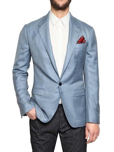 Dolce & Gabbana Cashmere And Silk Blend Jacket