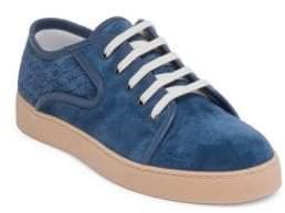 Bottega Veneta Suede Low-Top Sneakers