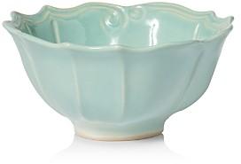 Incanto Stone Aqua Baroque Medium Serving Bowl