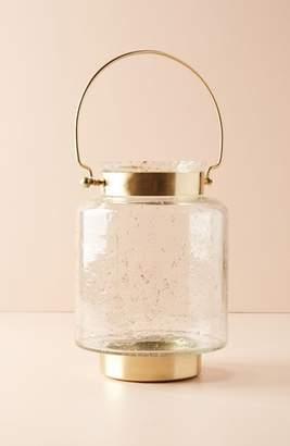 Anthropologie Gilded Lantern Candleholder