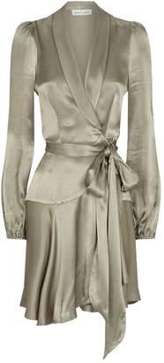 Shona Joy Wrap Joan Mini Dress