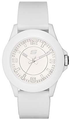 Skechers Women's Rosencrans Midsize Quartz Plastic and Silicone Casual Watch