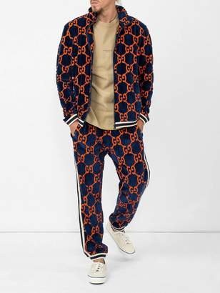 Gucci Gg chenille jogging pants