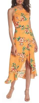Ali & Jay Chiquita Floral Print Midi Dress