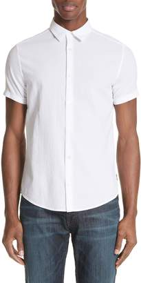 Emporio Armani Regular Fit Short Sleeve Sport Shirt