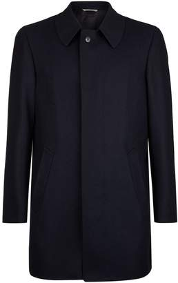 Canali Wool Collared Coat